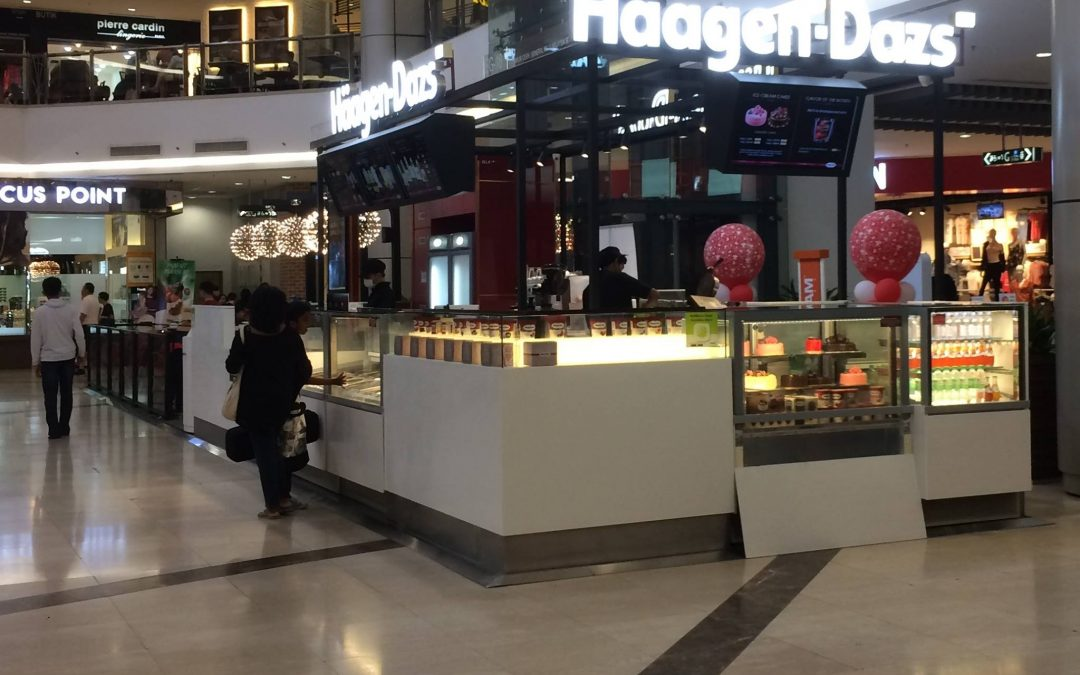 Case Studies: Haagen Dazs Malaysia using Bensonite Solid Surface