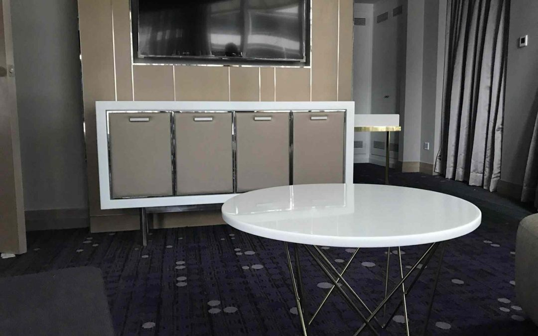 Case Studies : 5 Star Hotel in Kuala Lumpur using Bensonite Solid Surface