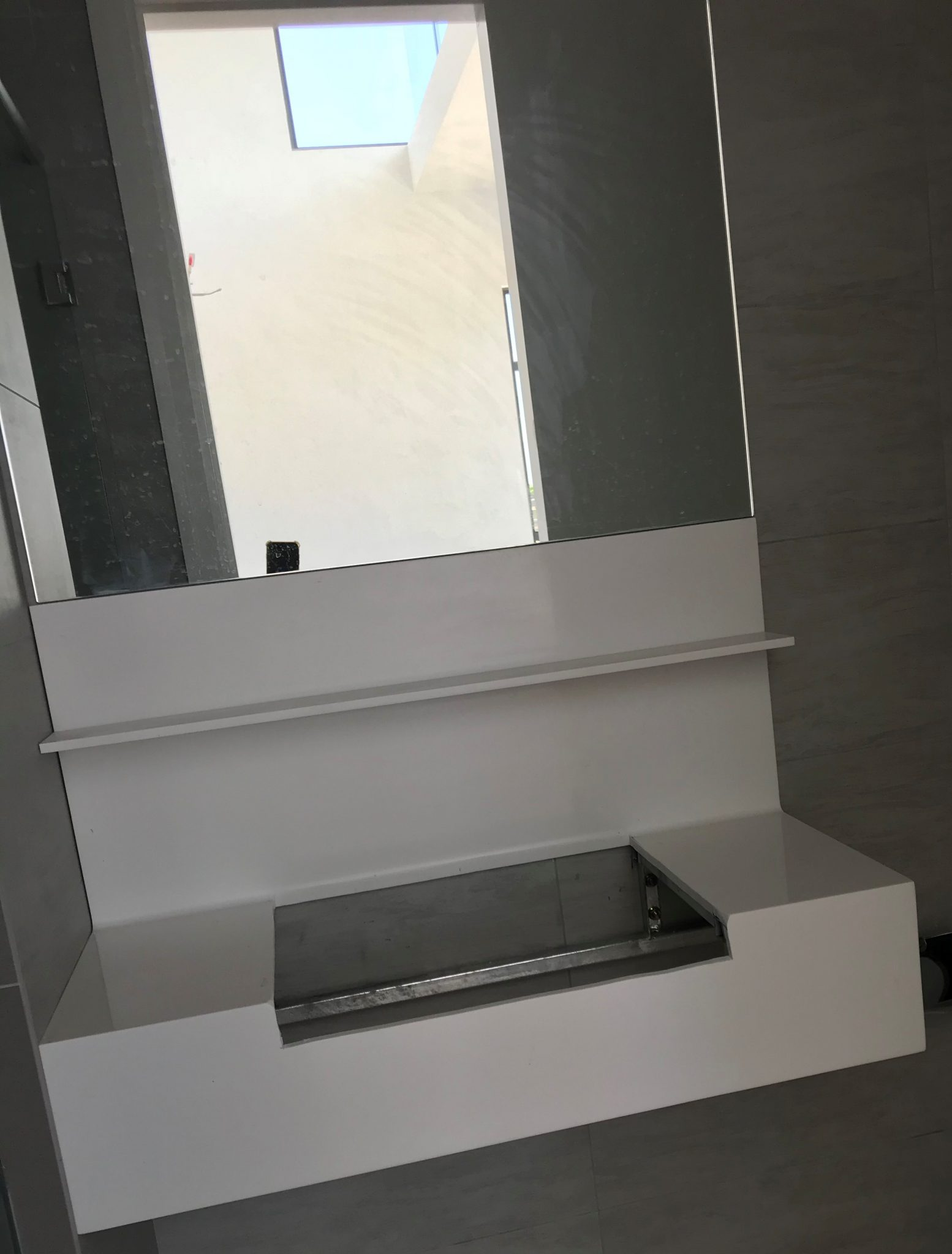 corian solid surface glacier white GW101