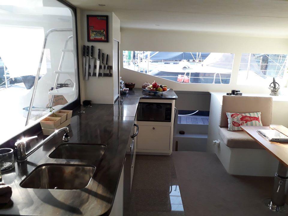 Catamaran's Kitchen Top